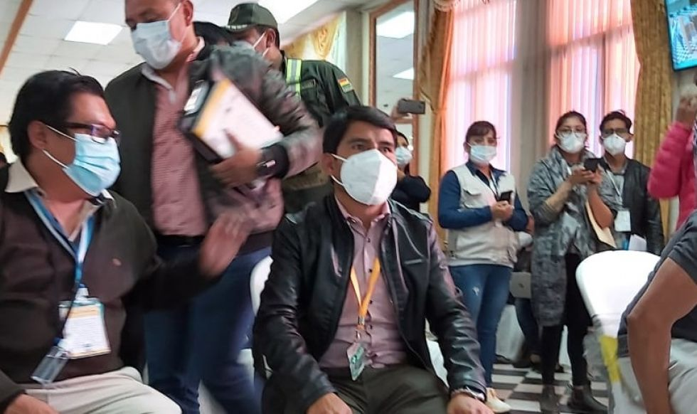 Oficial: Damián Condori gana la Gobernación de Chuquisaca