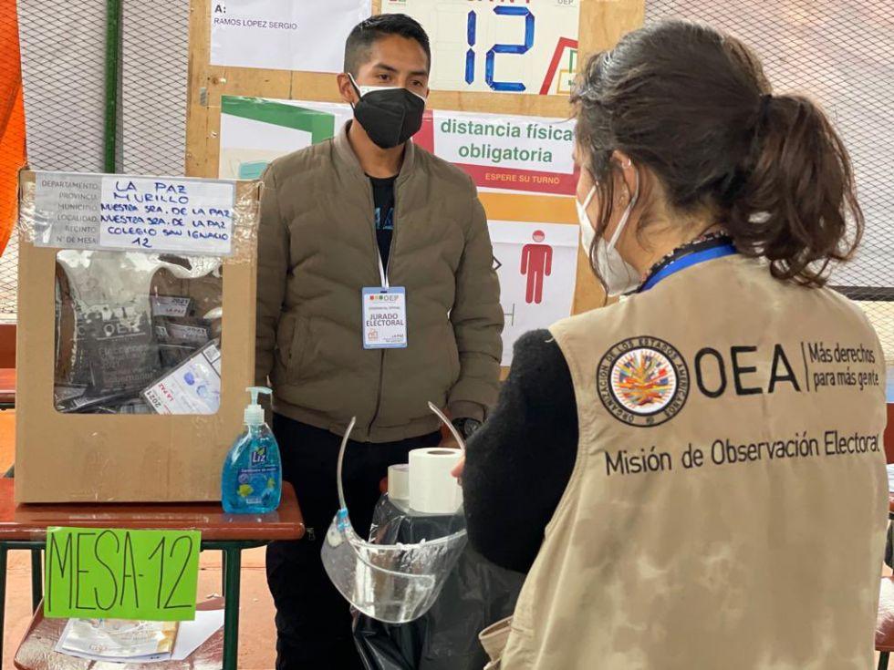 OEA destaca avance rápido de cómputo, pero recomienda utilizar el Direpre