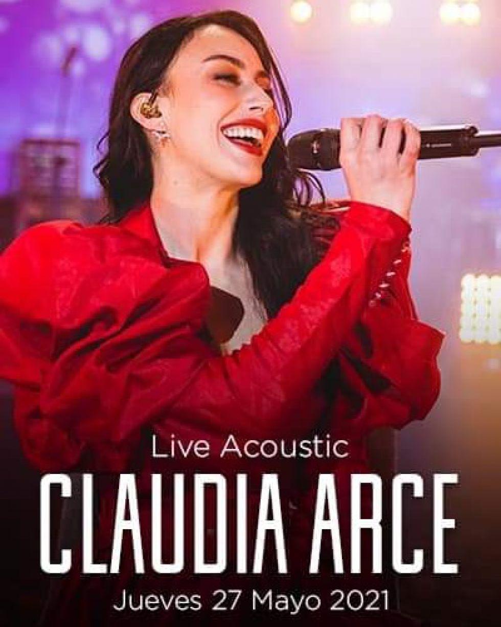 La chuquisaqueña Claudia Arce prepara un concierto en mayo.