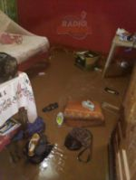 Una fuerte lluvia deja serios daños en Monteagudo.