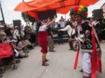 Vecinos y pobladores en general disfrutaron del tradicional Jueves de Surapata, casi en el epílogo del Carnaval en Sucre.