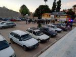 Los vehículos decomisados en el complejo de Garcilazo.