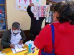 Así transcurrió la primera mitad de jornada electoral en Sucre.