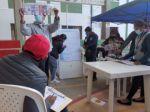 El conteo de votos en el colegio San Juanillo.