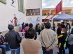 La población pudo seguir el conteo de votos en el establecimiento San Juanillo.