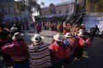 Ceremonias ancestrales precedieron la asunción de Luis Arce como presidente.