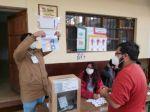 Así vota Chuquisaca para elegir gobernador en segunda vuelta. El recinto electoral en el Colegio Serrano.