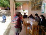 La votación en la unidad educativa Eduardo Sempértegui, de Yamparáez, para elegir gobernador en segunda vuelta.