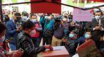 La votación de Damián Condori, candidato a gobernador de Chuquisaca de CST.