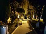 El circuito turístico nocturno en el Cementerio General de Sucre.