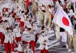 Japón cerró el desfile de las delegaciones nacionales.