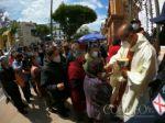La procesión de la Virgen de Guadalupe en Sucre.