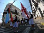 Homenaje al aniversario de la fundación de Sucre.