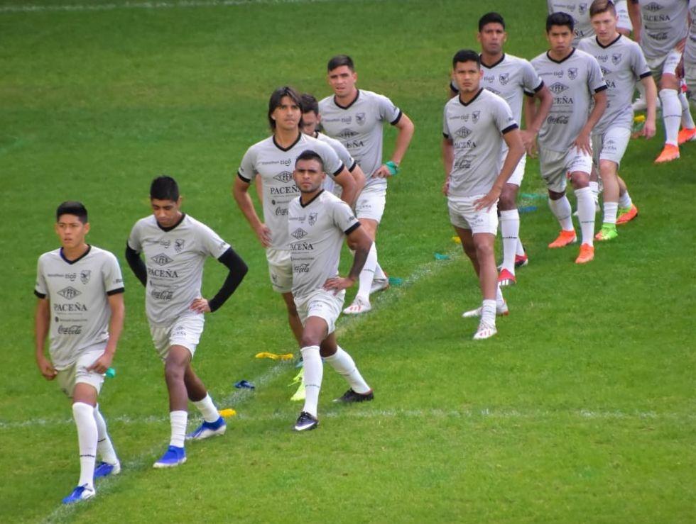 La Selección Nacional entrenó este jueves en Belo Horizonte.
