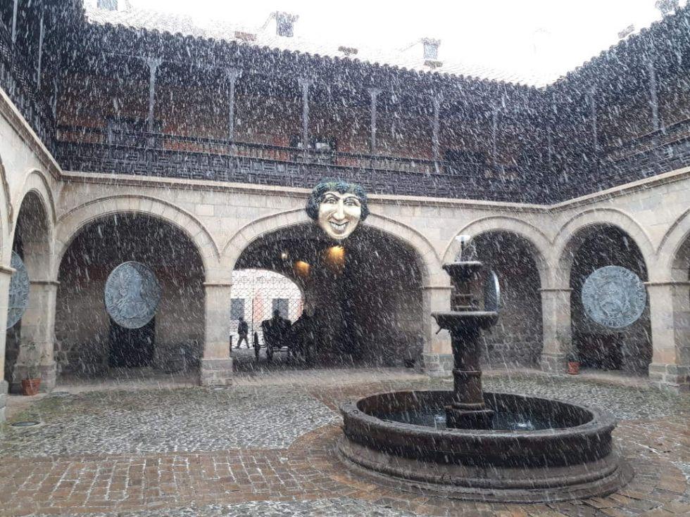 Nieva en Potosí