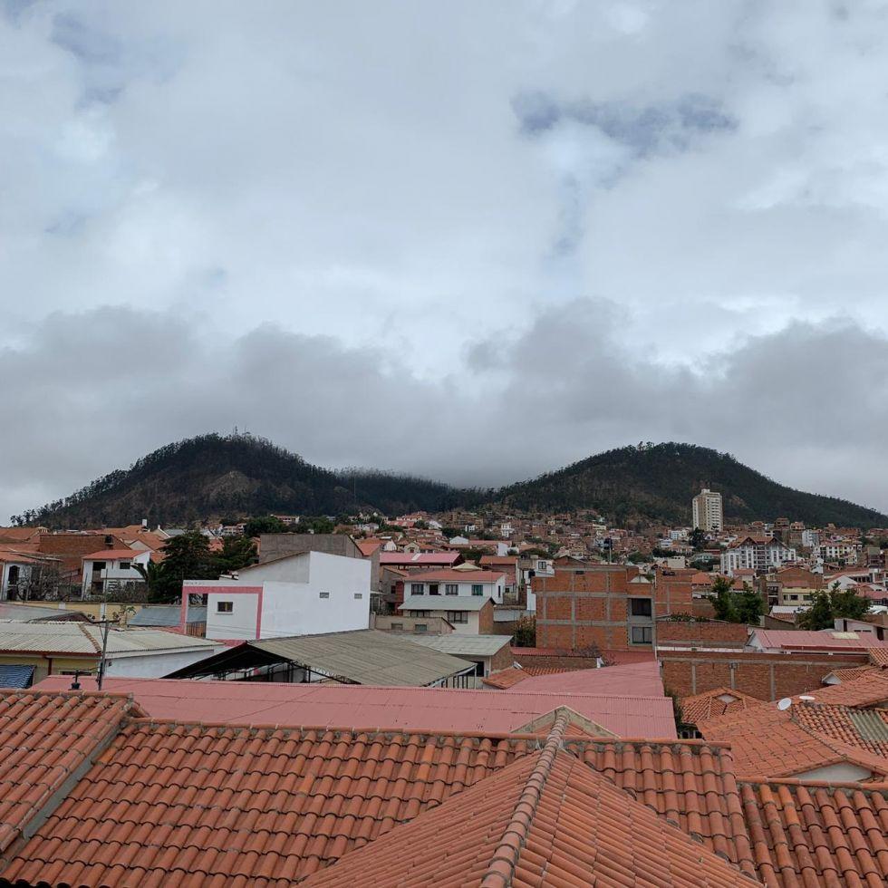 Lluvia y frío en Sucre