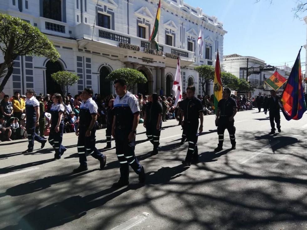 6 de Agosto en Sucre