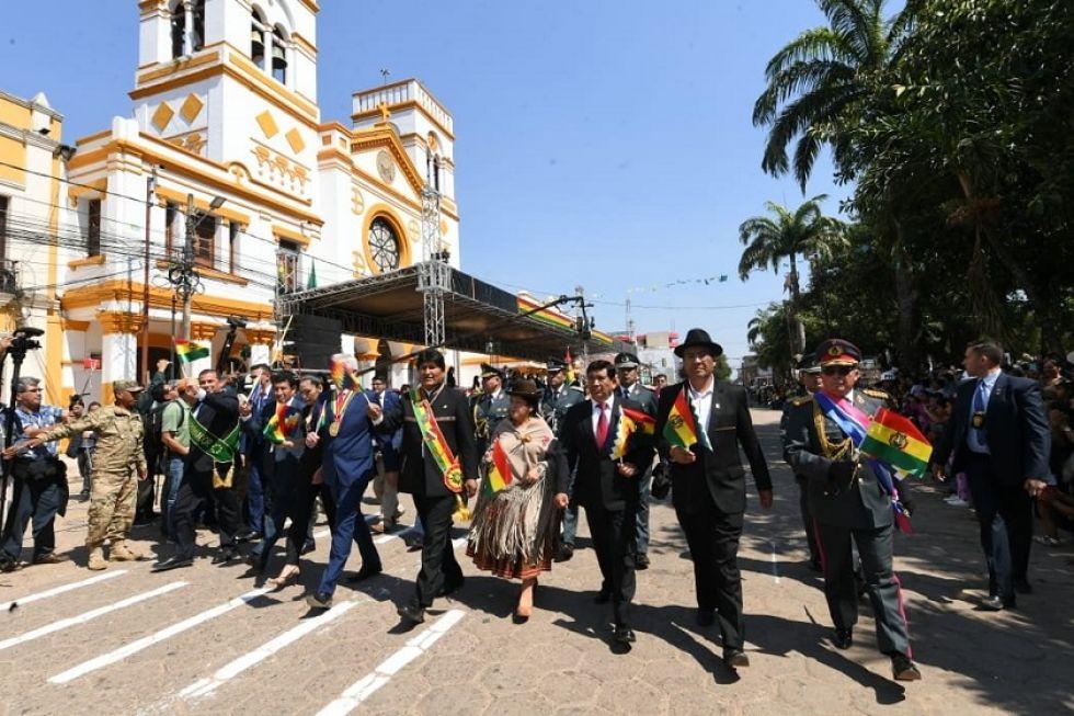 Celebración del 6 de Agosto en Trinidad