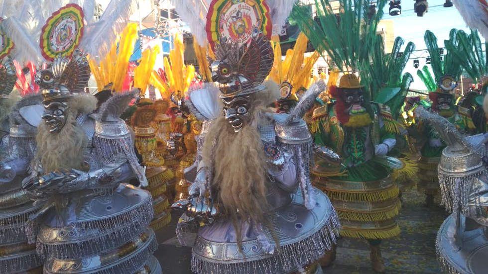 La festividad de Ch'utillos se vive este sábado en la Villa Imperial.