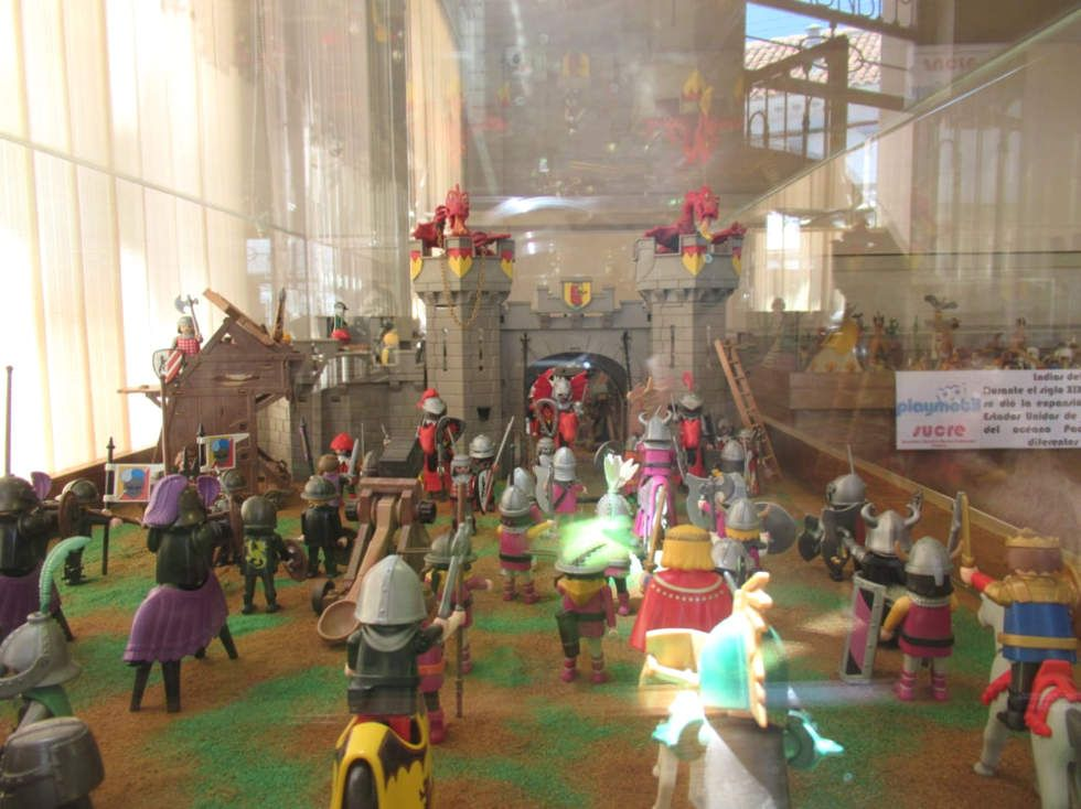 """Presentan """"La historia en Playmobil"""" en el FIC 2019"""