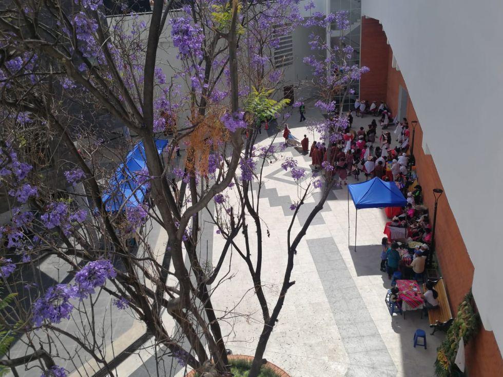 El movimiento, esta tarde, en La Sombrerería.