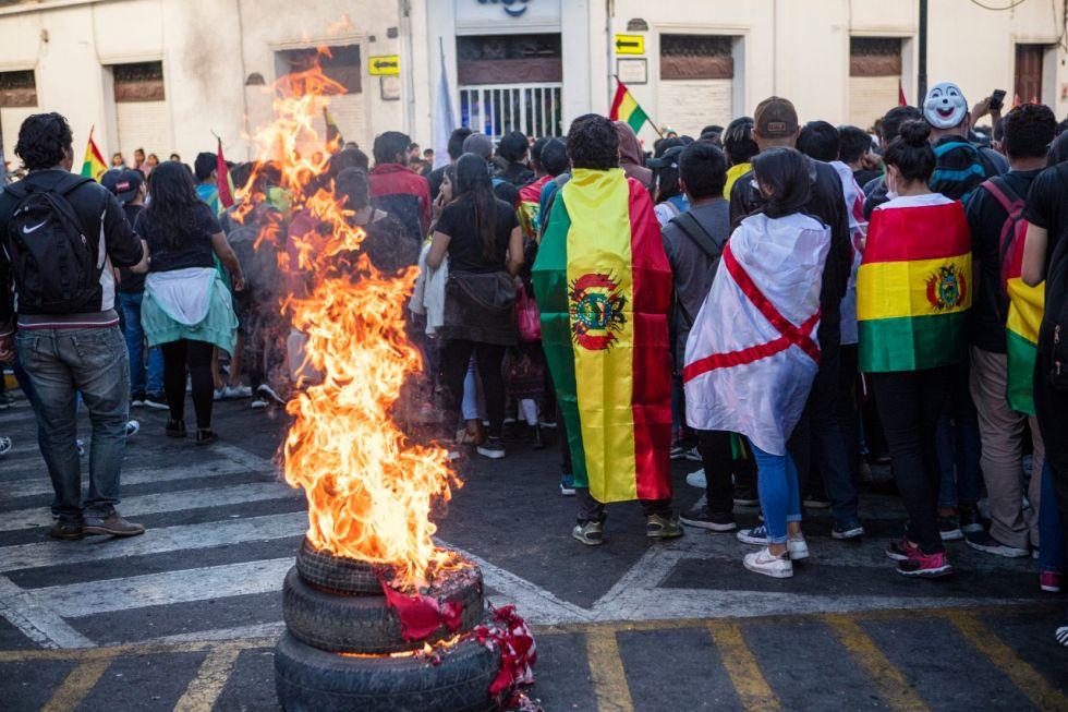 Así fue la marcha y concentración de miles de ciudadanos en Sucre