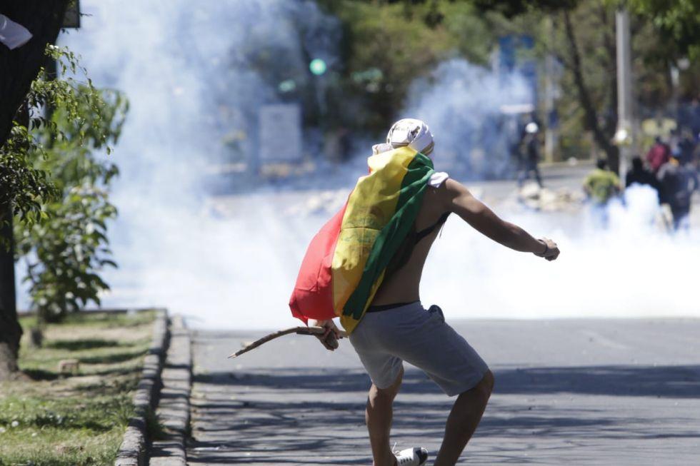 Cochabamba, epicentro de enfrentamientos de este martes