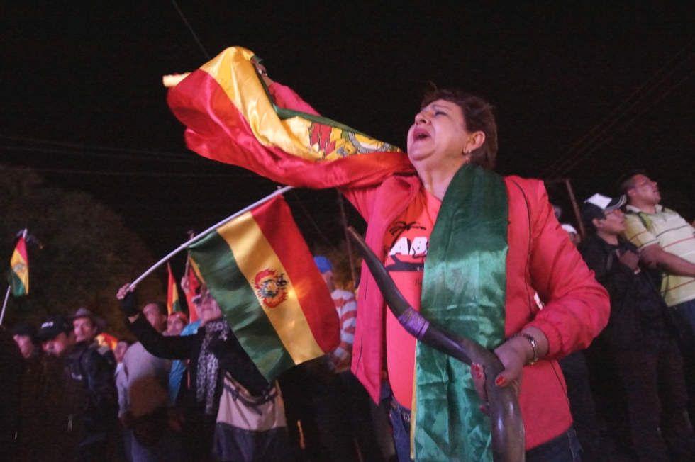 Sucre: Masiva concentración en la avenida Las Américas