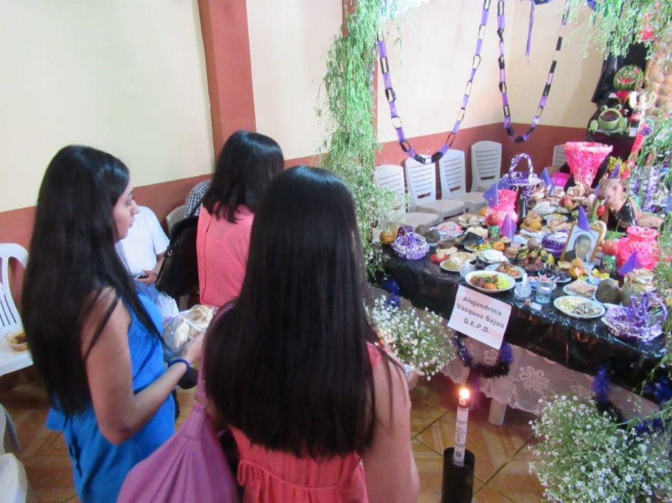 K'anchacus para el Día de los Difuntos en Sucre
