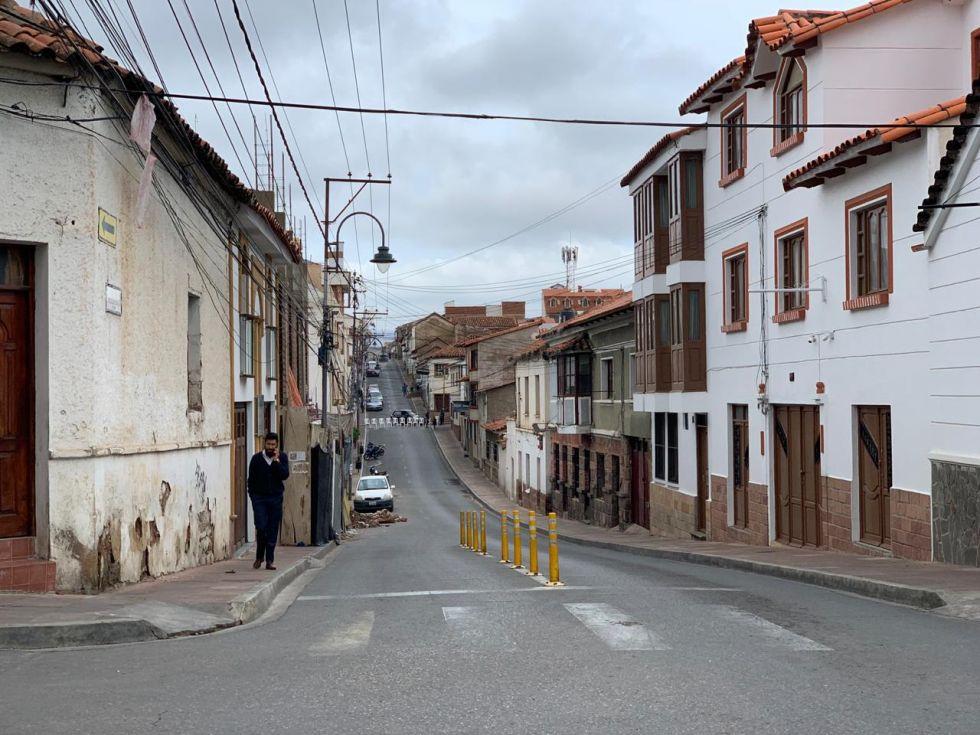 Panorama de los puntos de bloqueo en distintas partes de la ciudad.