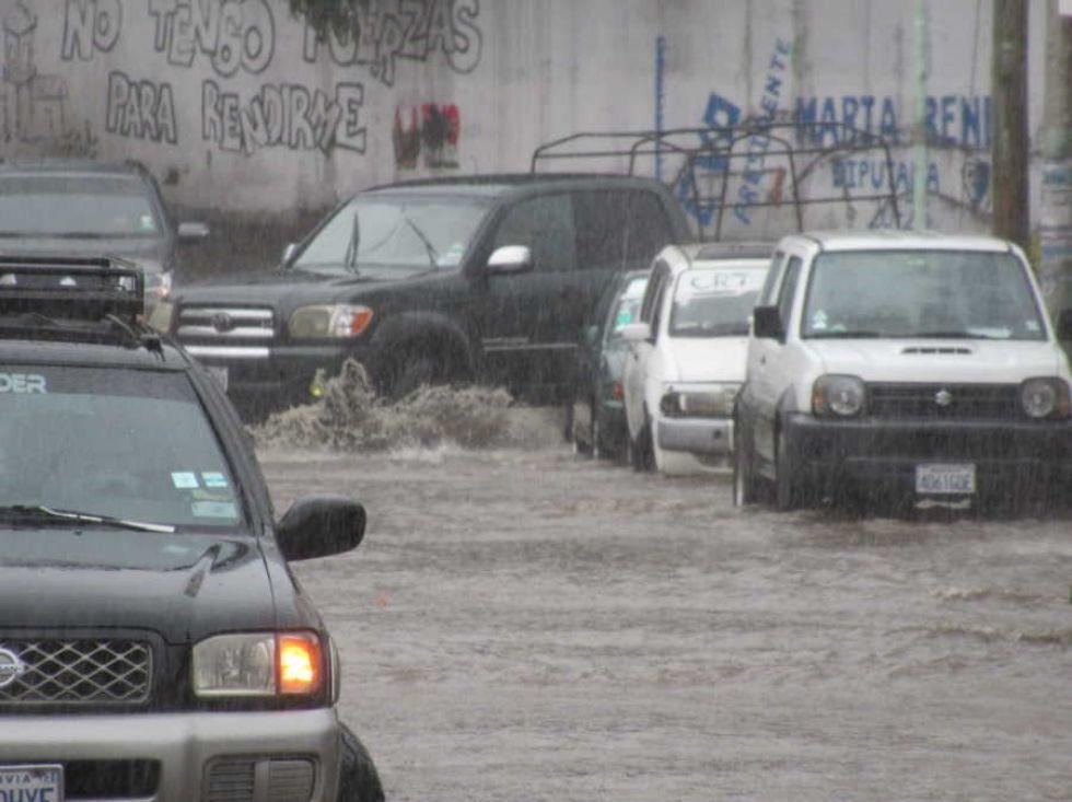 Lluvia en Sucre