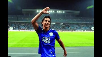 Marcelo Martins anotó  y su equipo se ubica tercero