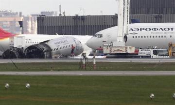 Hallan cajas negras del avión siniestrado en Rusia