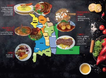 Chuquisaca elegirá plato bandera entre 15 opciones
